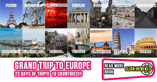 Grand Trip to Europe
